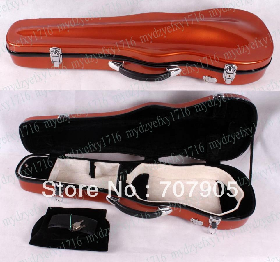 (67.00$)  Buy here  - One 4/4 violin Glass fiber case Waterproof Light Durable reinforced Dropshipping Wholesale High quality