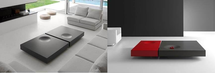 Ideas para colocar una mesa de centro en el salón