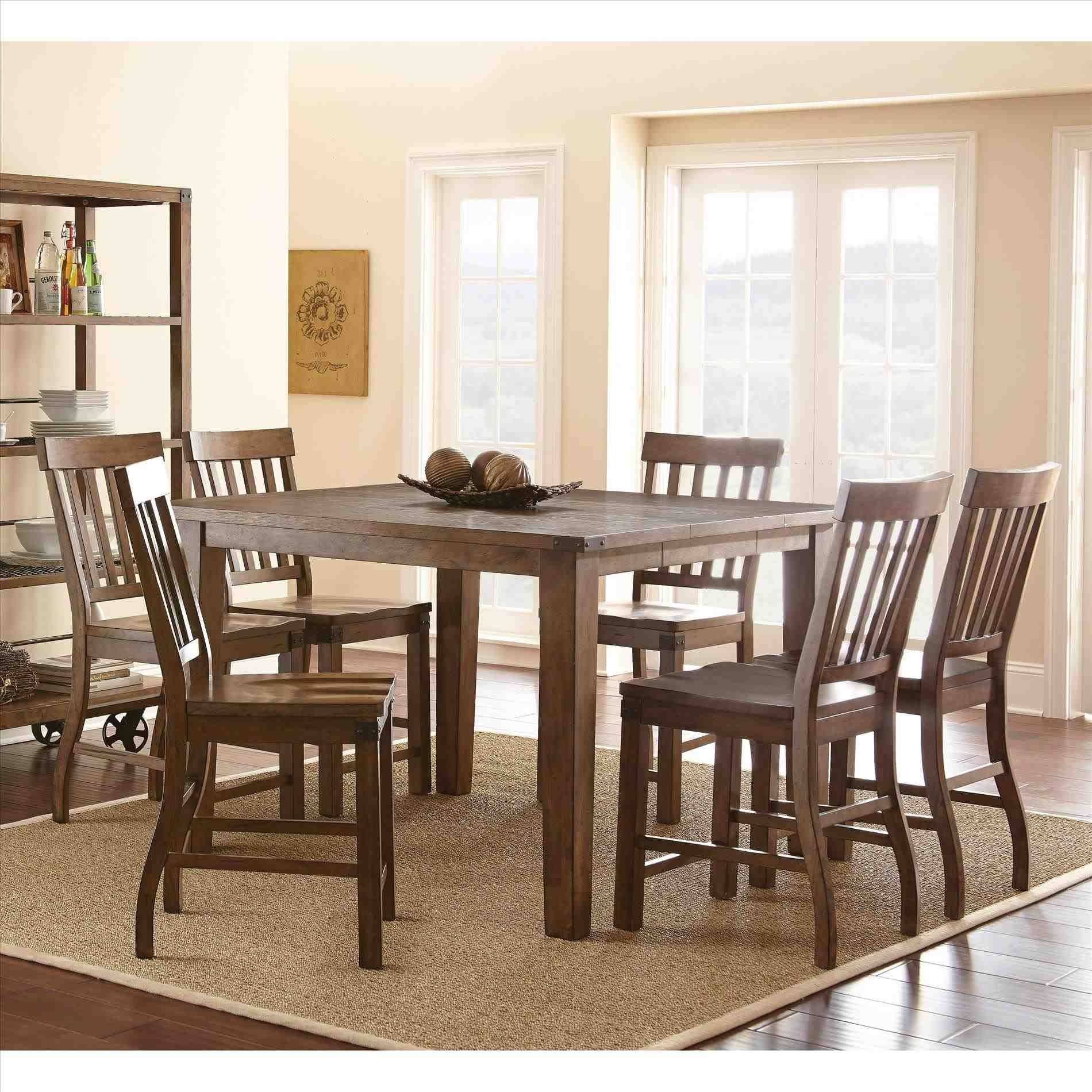 new post tall dining table walmart - Walmart Kitchen Tables