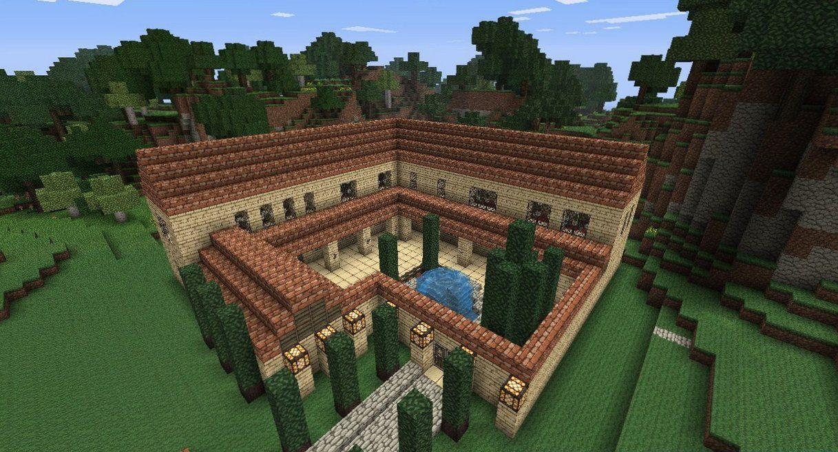 Minecraft Roman Villa by NiegelvonWolf on deviantART  Minecraft
