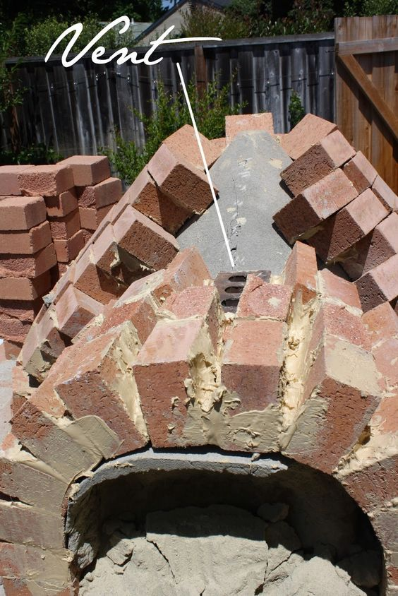 pizza oven how to build your own forno brick pizza oven the tipsy