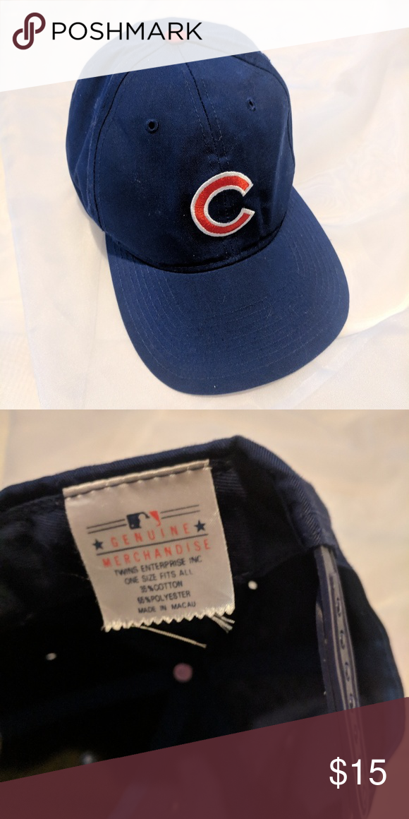 540a712a64d Chicago Cubs Blue Snapback baseball Hat In great shape! New Era Accessories  Hats