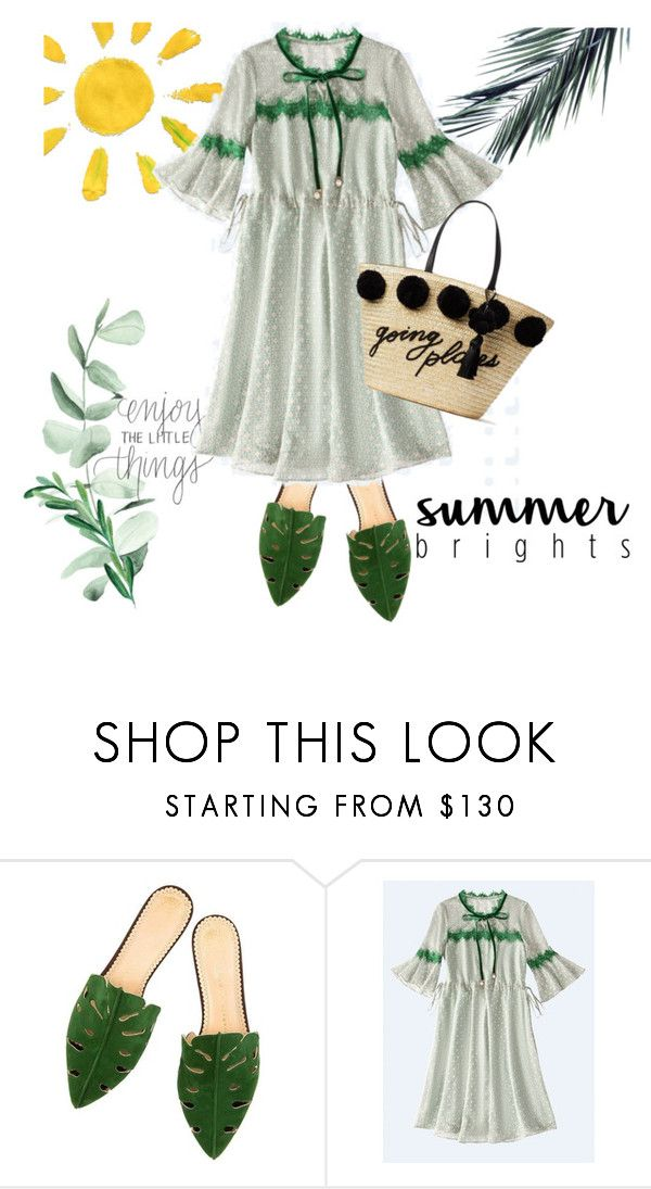 """Green Moods"" by metisu-fashion ❤ liked on Polyvore featuring Kate Spade"