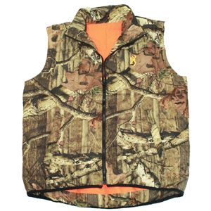 Browning Camouflage Reversible Down Vest