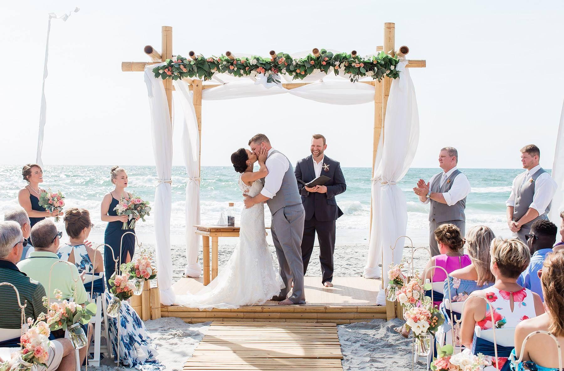 Wrightsville Beach Weddings Nc Barefoot East Coast Wedding Photo Ideas Ceremony