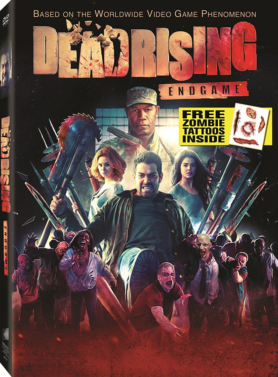 New On Dvd And Blu Ray December 6 2016 Dead Rising Blu Ray Dvd