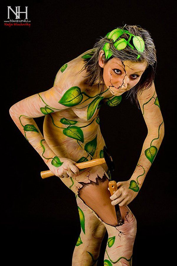 Body Paintings By Nadja Hluchovsky Cuded Body Art Painting Body Painting Bodypainting