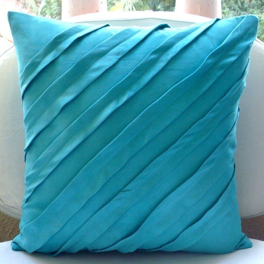 cover il listing pillow turquoise decorative zoom kdrz blue pillows holiday decor sequin shiny fullxfull