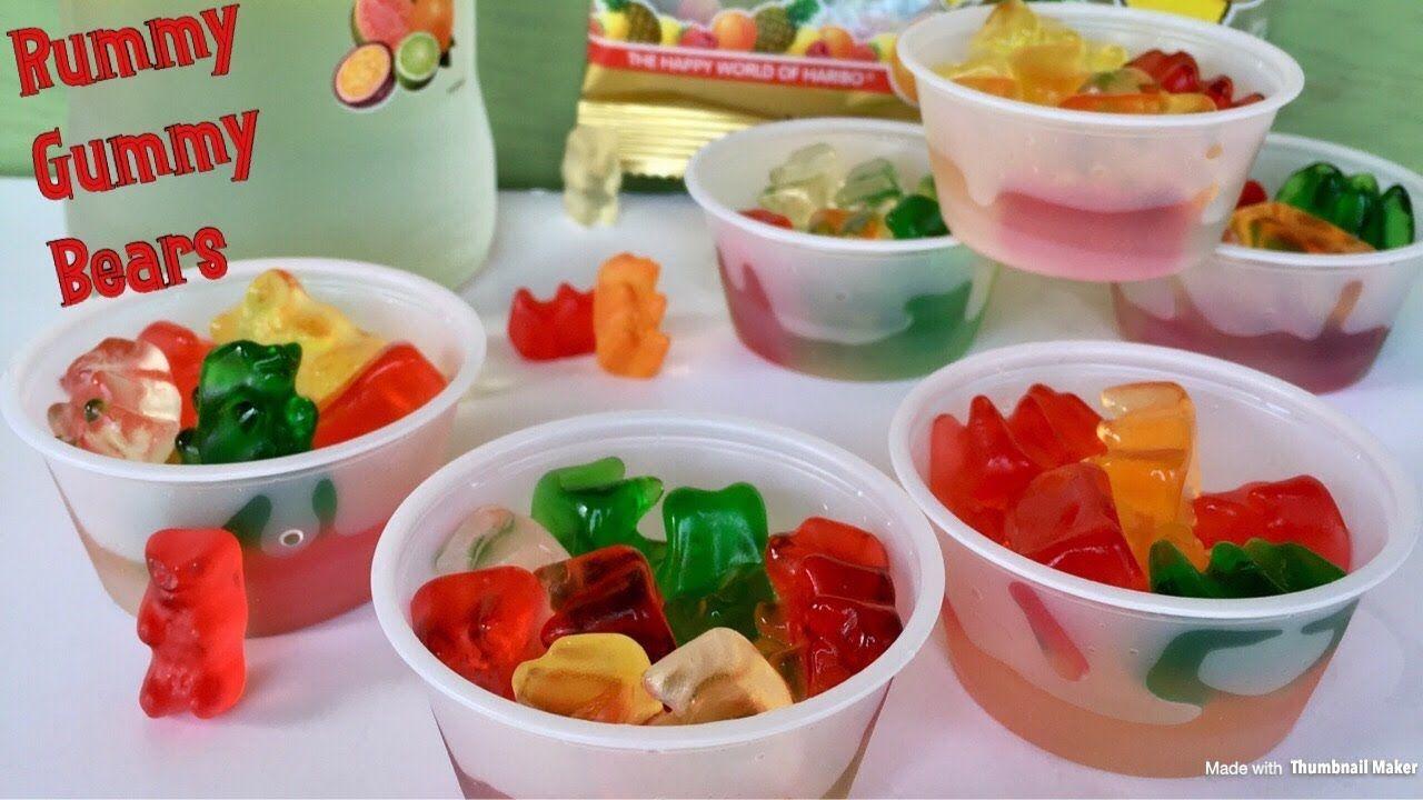 How to make rummy gummy bears bear recipes vodka gummy