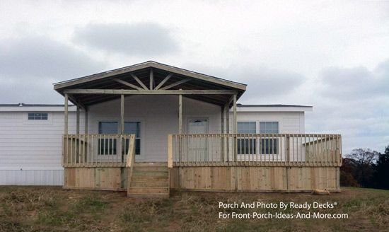 Porch Designs For Mobile Homes Decks Mobile Home Porch