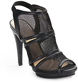 $89, Jessica Simpson Fedelle Mesh Slingback Sandals. Sold by Off 5th. Click for more info: https://lookastic.com/women/shop_items/134127/redirect