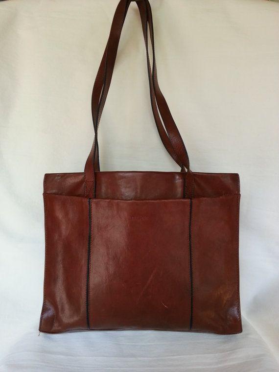Milleni Vintage Italian Made Genuine Leather By Borjonsvintage 21 99 Handbags