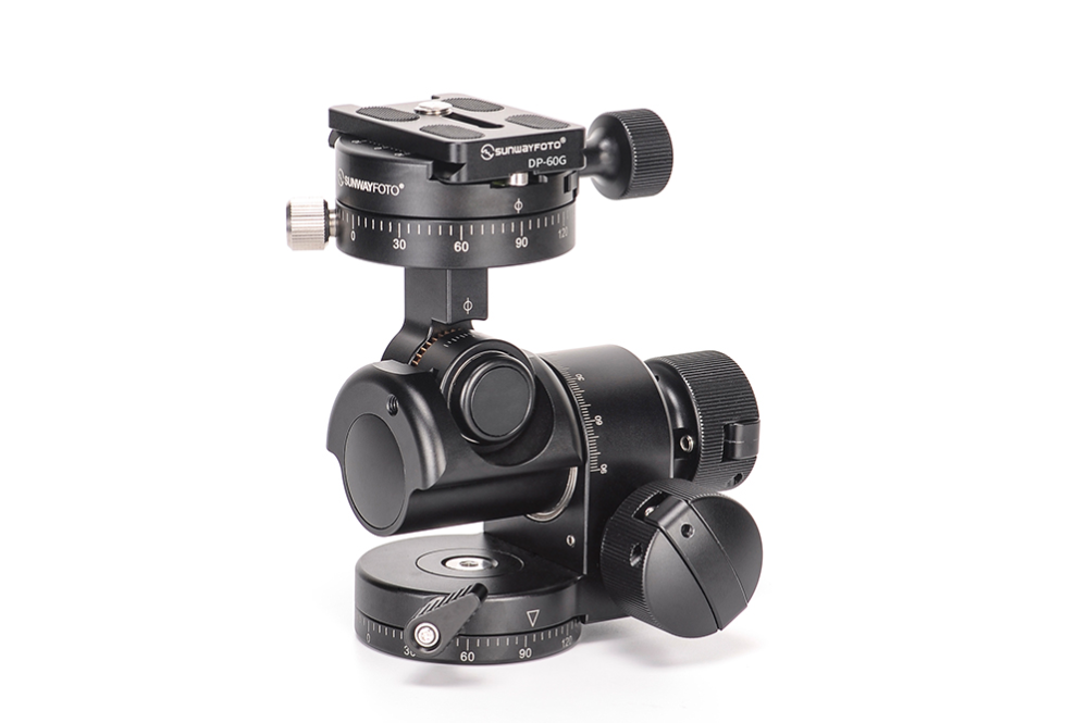 Model Gh Pro Ii Geared Head Clamp Type Ddh 11 Panning Base With Clamp Material T6061 Aluminum D Photography Accessories Photo Equipment Camera Accessories