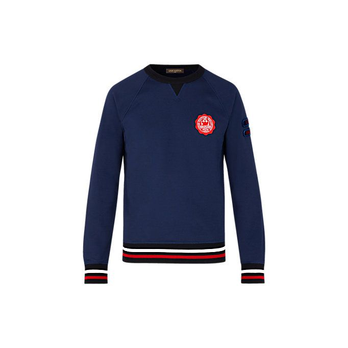 d672ee29 Patches Sweatshirt Men Ready to wear T-shirts, Polos and Sweatshirts | LOUIS  VUITTON