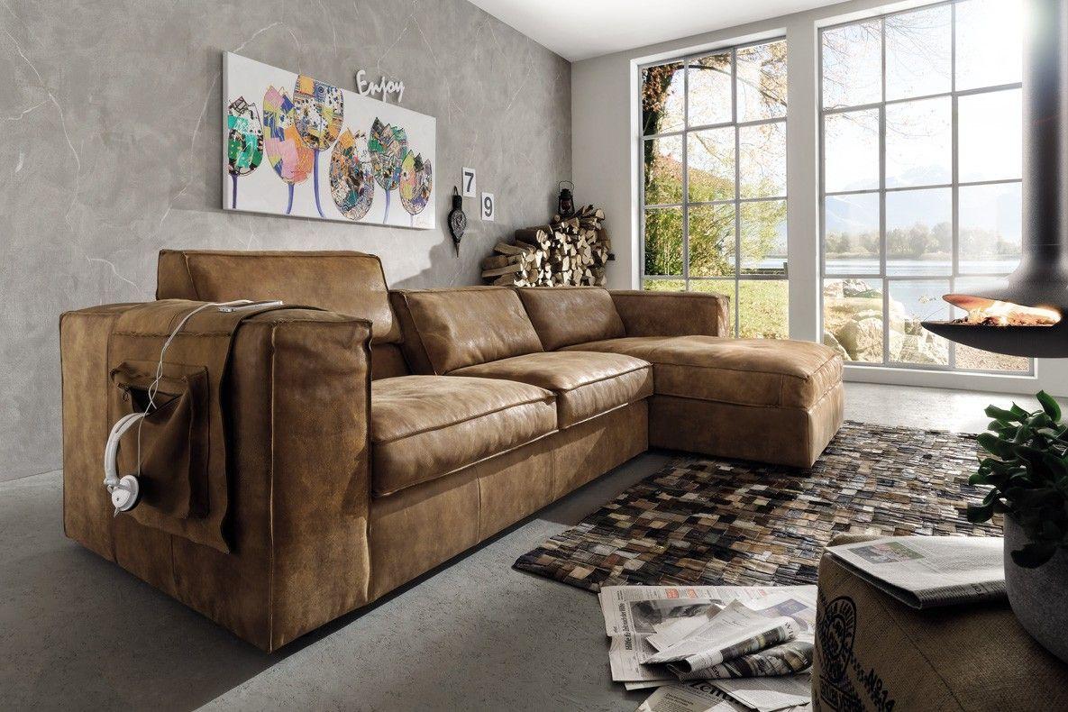 Charming Eckcouch Leder Gallery Of System Eckgarnitur Couch S Naht Mit Longchair