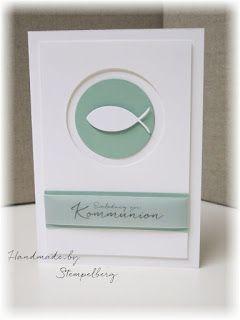einladungskarten zur kommunion stempelberg stampin up. Black Bedroom Furniture Sets. Home Design Ideas