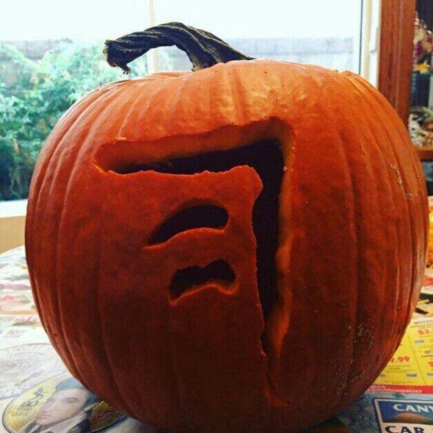 #Halloween💗💖 The mark of cain | Cute pumpkin, Pumpkin ...