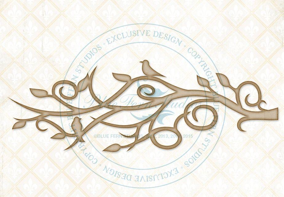 Blue Fern Studios - Chipboard - Mystic Branch