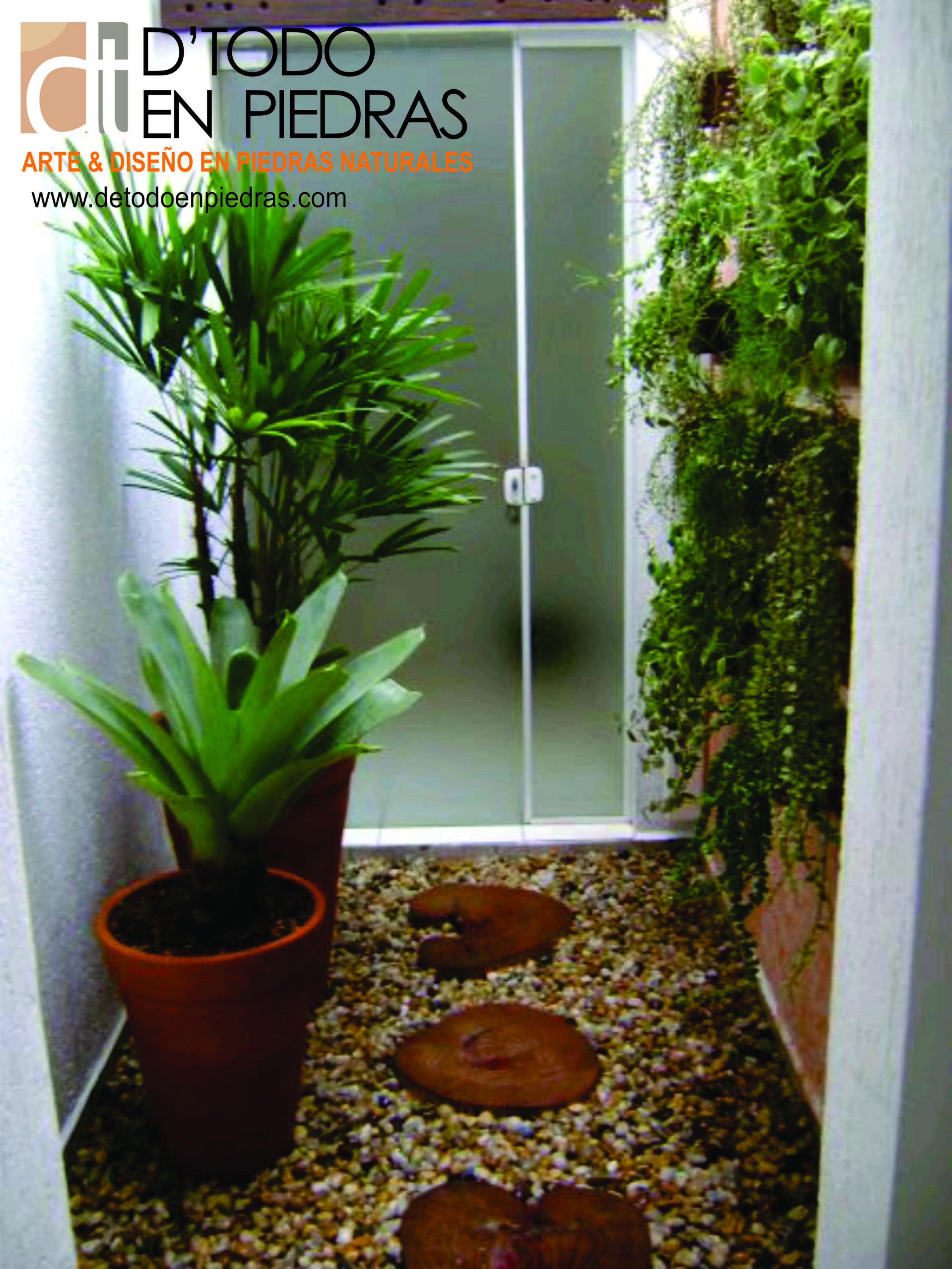 El camino de la naturaleza son decoradas con plantas y for Caminos de piedra en el jardin