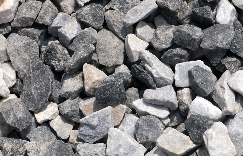 Black Ice 20mm Decorative Stone Chippingspebbles Gravel Stone