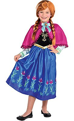 toddler girls anna costume frozen
