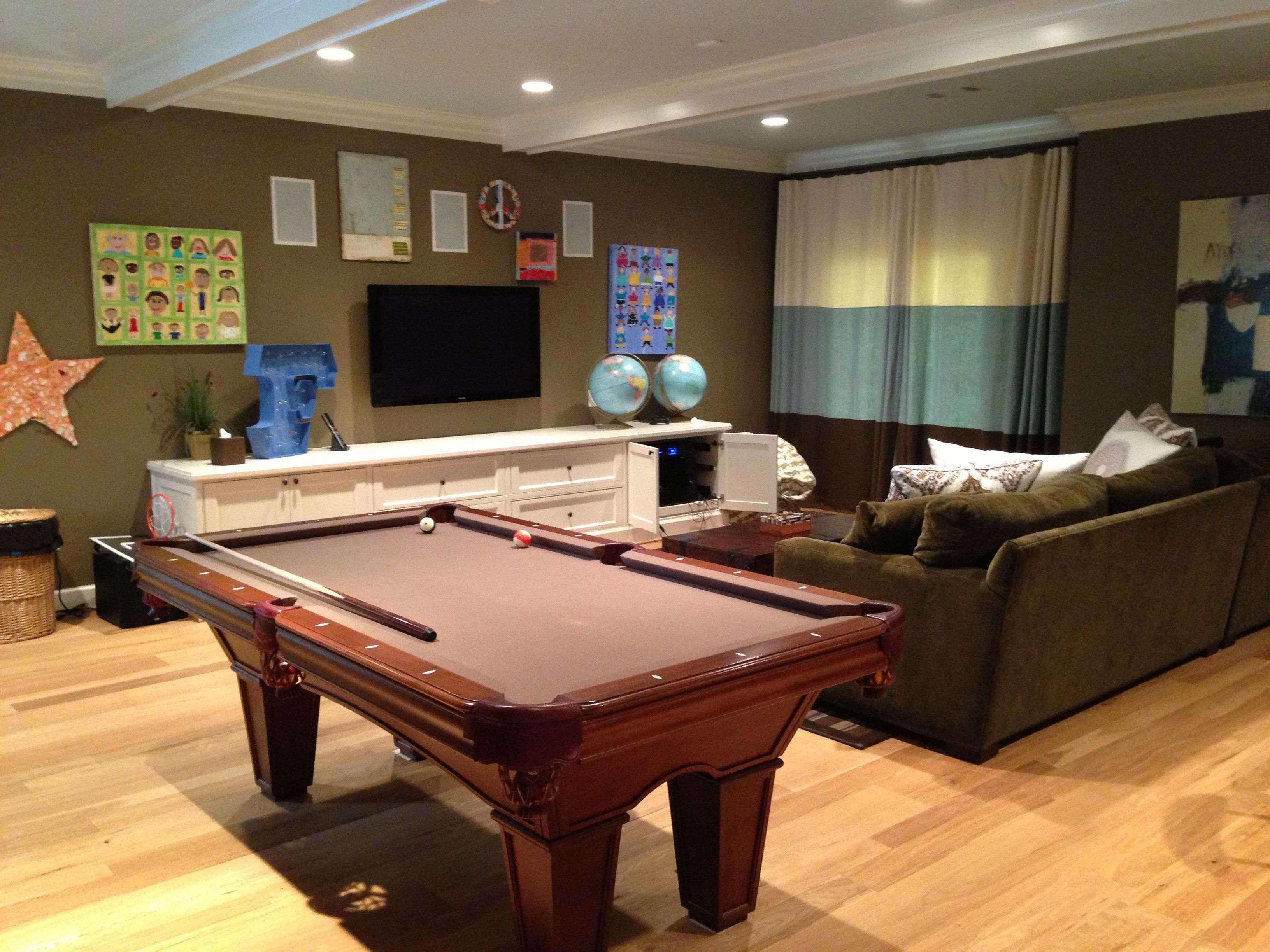 Dream house game room - Find This Pin And More On Best Pool Rooms And Tables Maybe Basement Game Room Dream House