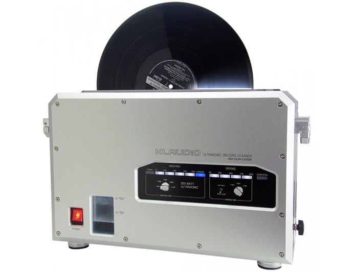 Klaudio Unveils An Ultrasonic Lp Record Cleaning Machine For 4000 With Images Record Cleaner Clean Vinyl Records Vinyl Records