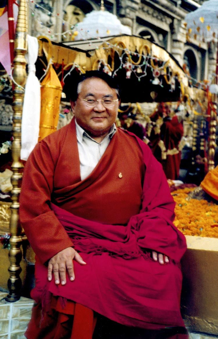 """Sogyal Rinpoche, Tibetan Buddhist, teacher and author of the famous book """"The Tibetan Book of Living and Dying"""" (1992). """"Rinpoche"""" is an honorary Buddhist title, meaning """"The Valuable"""". A.L."""