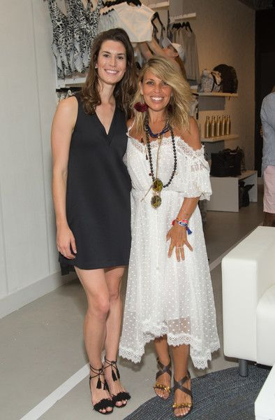 Claudia Saez Fromm Photos Photos Carbon38 And Hamptons Magazine Invite You To Celebrate The Opening Of Beach House The Hamptons Celebrities Summer Dresses