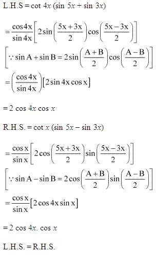 NCERT Solutions for Class 11 Maths Chapter 3 Trigonometric