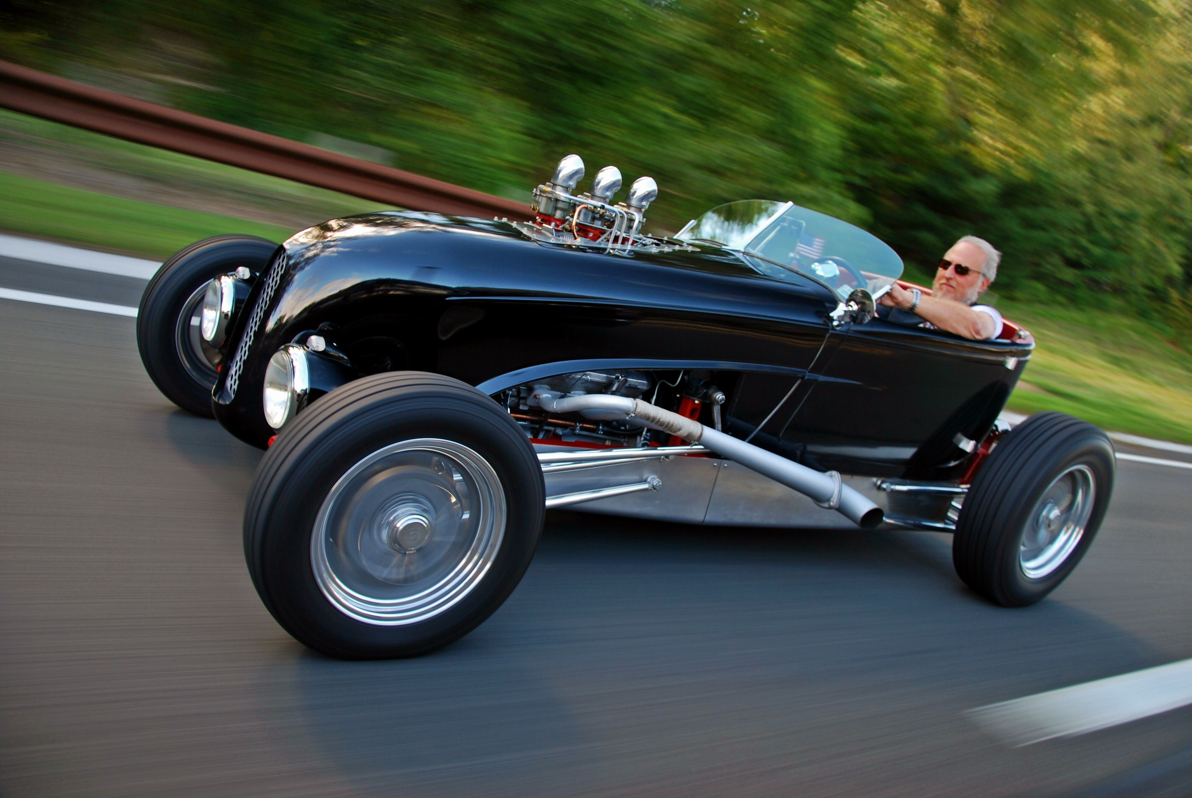 It S A Zipper Lakes Modified Roadster Powered By A Vintage Alfa V6