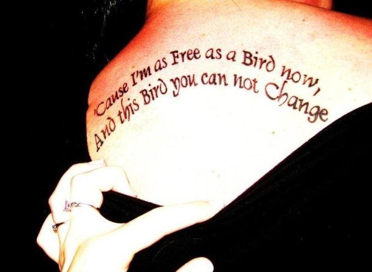 21e7572cf freebird tattoos | my tattoos free bird | One day- Tattoo dreaming ...