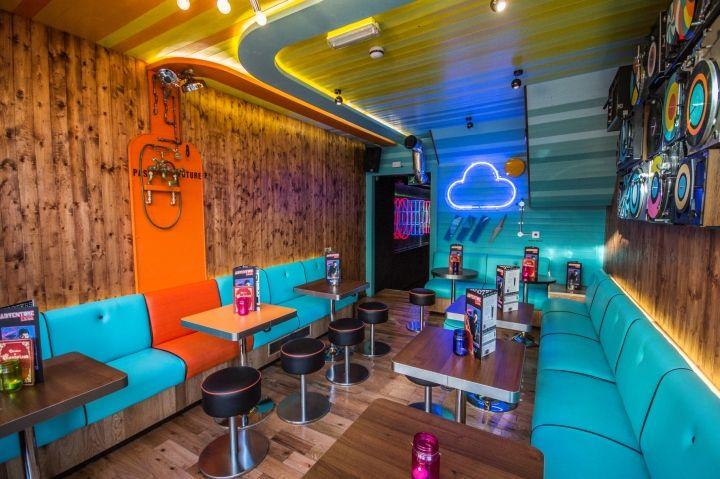Adventure bar lighting by paul nulty lighting design london uk adventure bar lighting by paul nulty lighting design london uk retail design blog aloadofball Choice Image