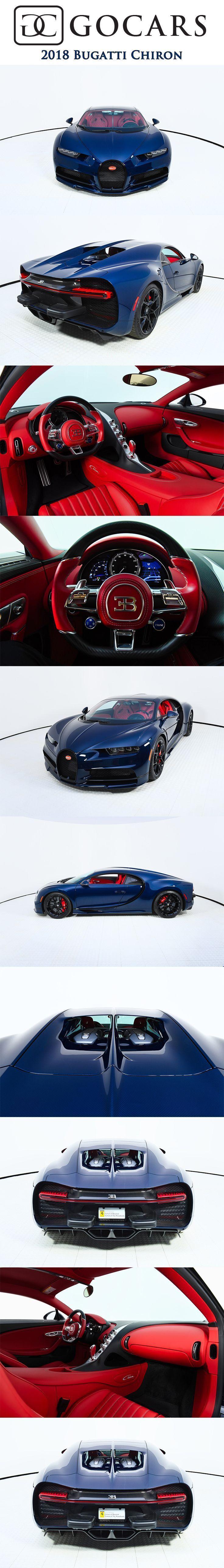 2018 Bugatti Chiron on GoCars 2018 Bugatti Chiron from the private collection. This USA-Specificati