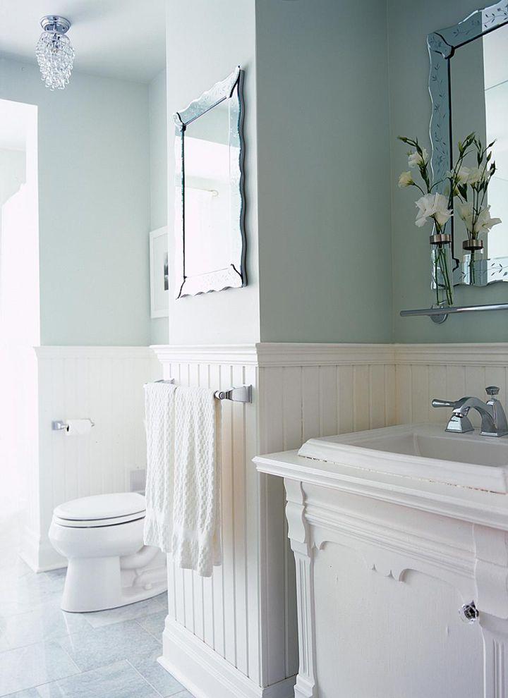 Sarah Richardson Design Cottage Bathroom Ideas Wainscoting