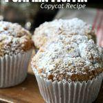 Panera Pumpkin Muffins #pumpkinmuffins