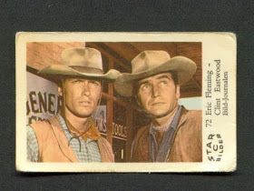 Rawhide: Eric Fleming and Clint Eastwood