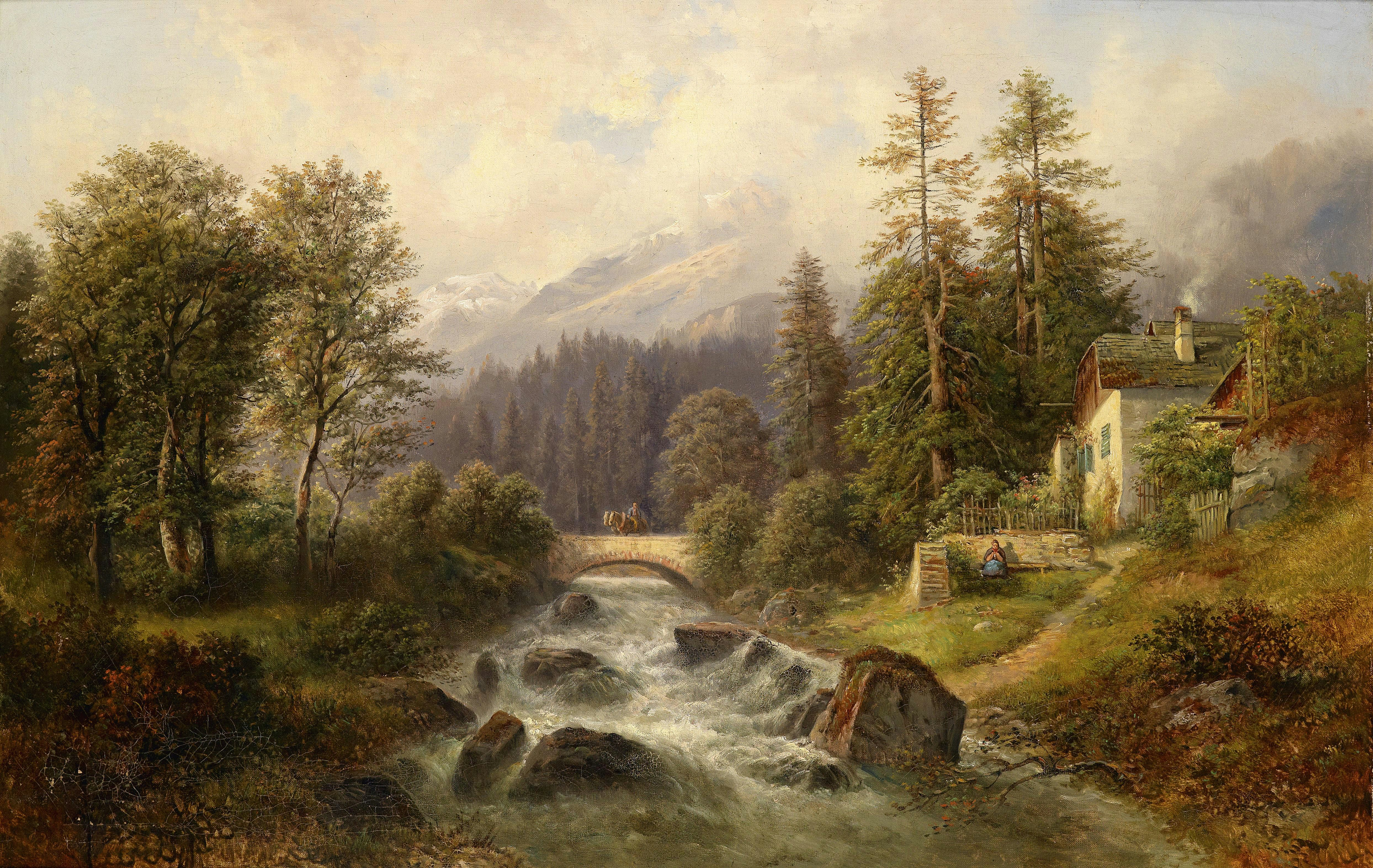 Carl Millner 02 Paintings Pinterest Landscaping And