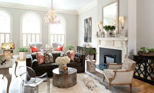 Superieur Living Room Decorating And Designs By Hudson Interior Design   Boston,  Massachusetts, United States ...