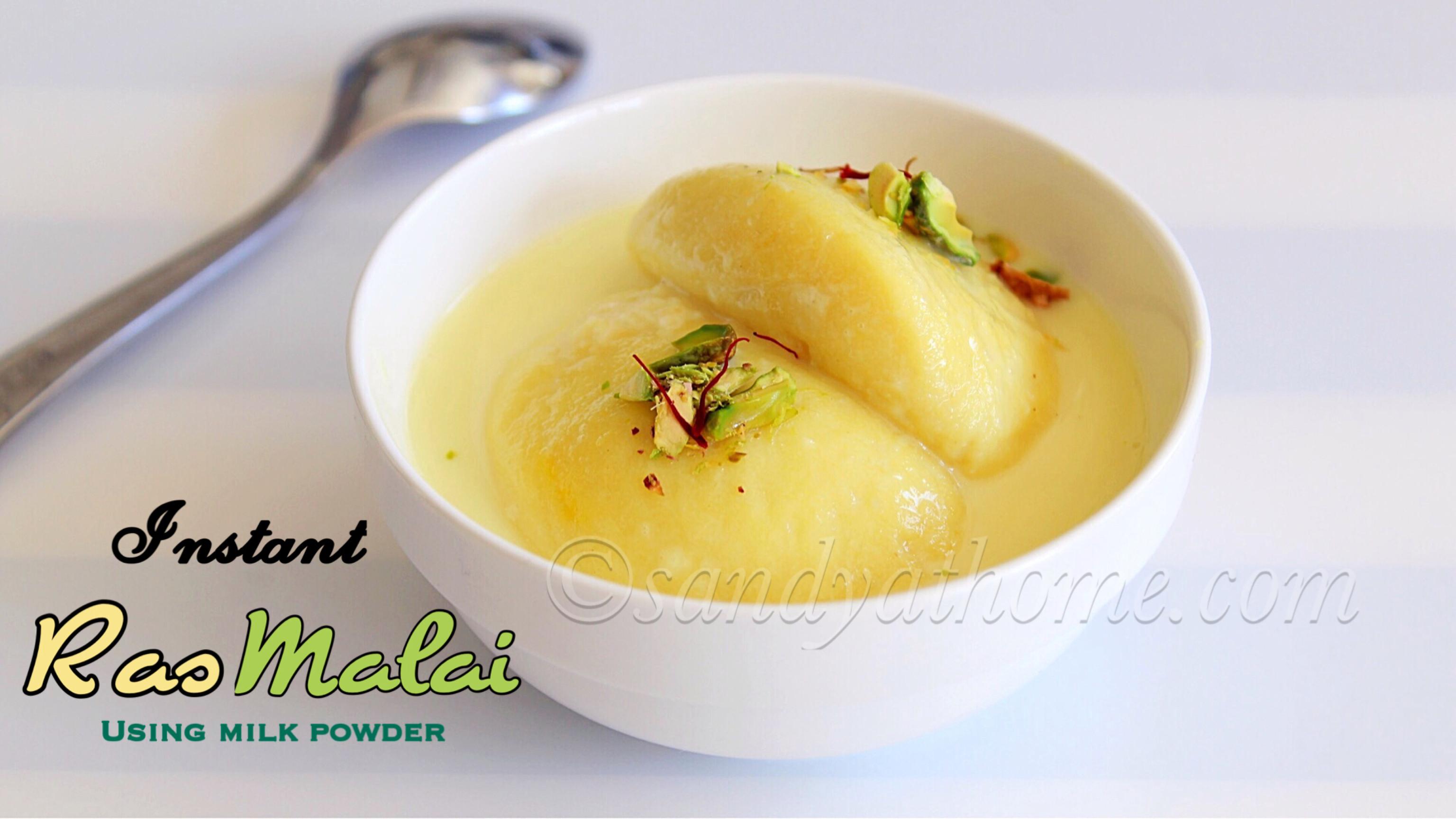 Milk Powder Rasmalai Recipe Instant Rasmalai Rasmalai Recipe Sandhya S Recipes Recipe Milk Powder Recipe Milk Recipes Easy Indian Dessert