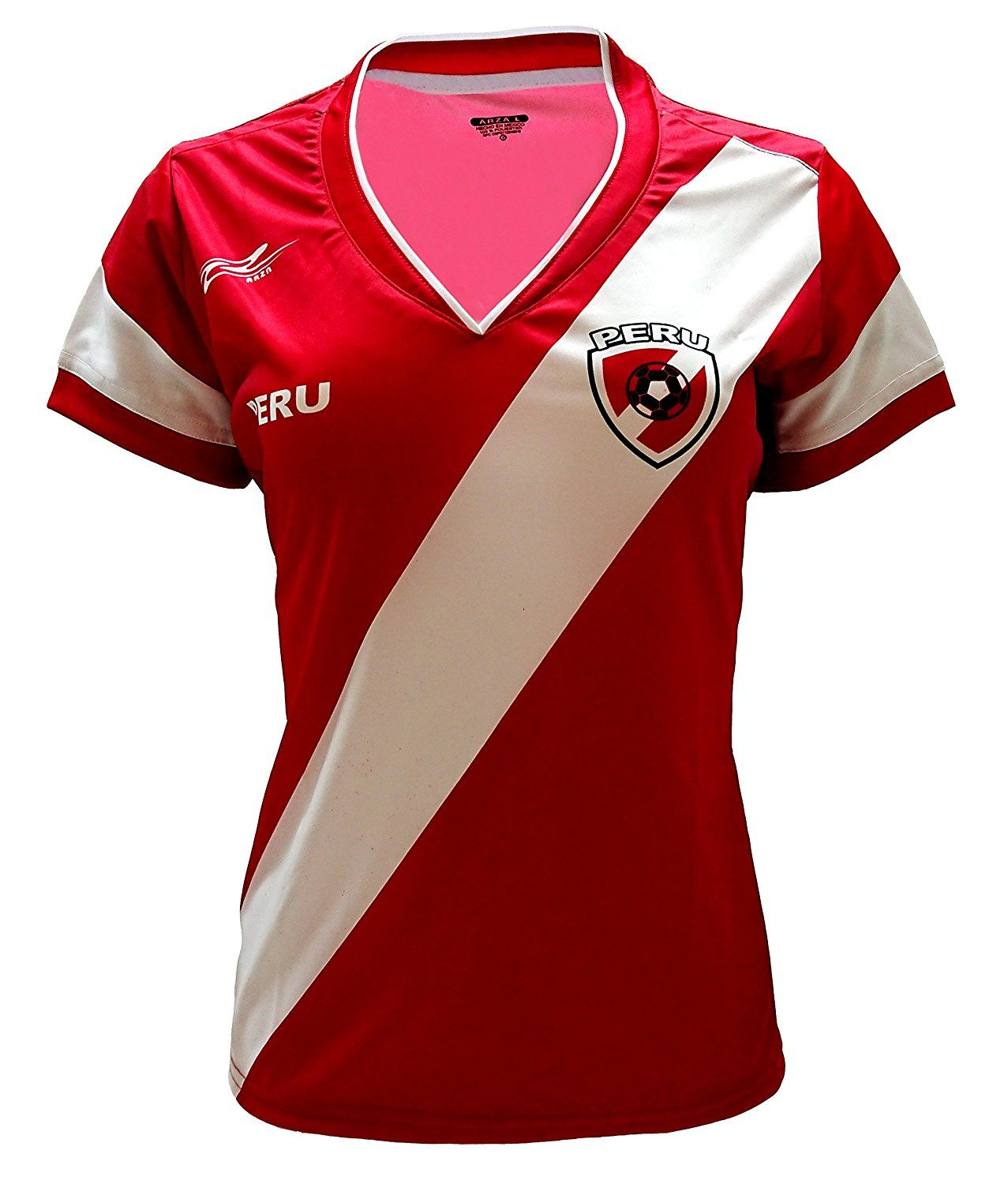 Peru Women Soccer Jersey Color Red 100% Polyester  Clothing World Cup 2018 78f0a04680