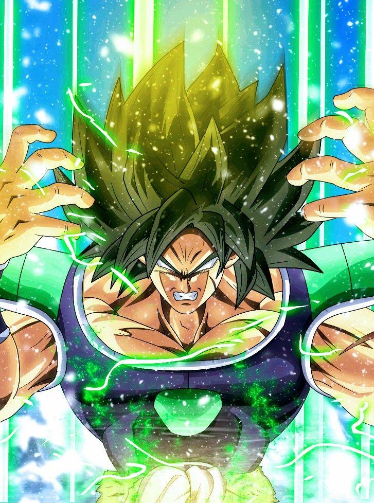 Broly - Powering Up, Dragon Ball Super | Dragon Ball ...