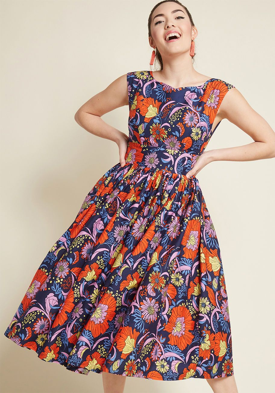 Fabulous Fit And Flare Dress With Pockets Fit N Flare Dress Flare Dress Fit And Flare Dress