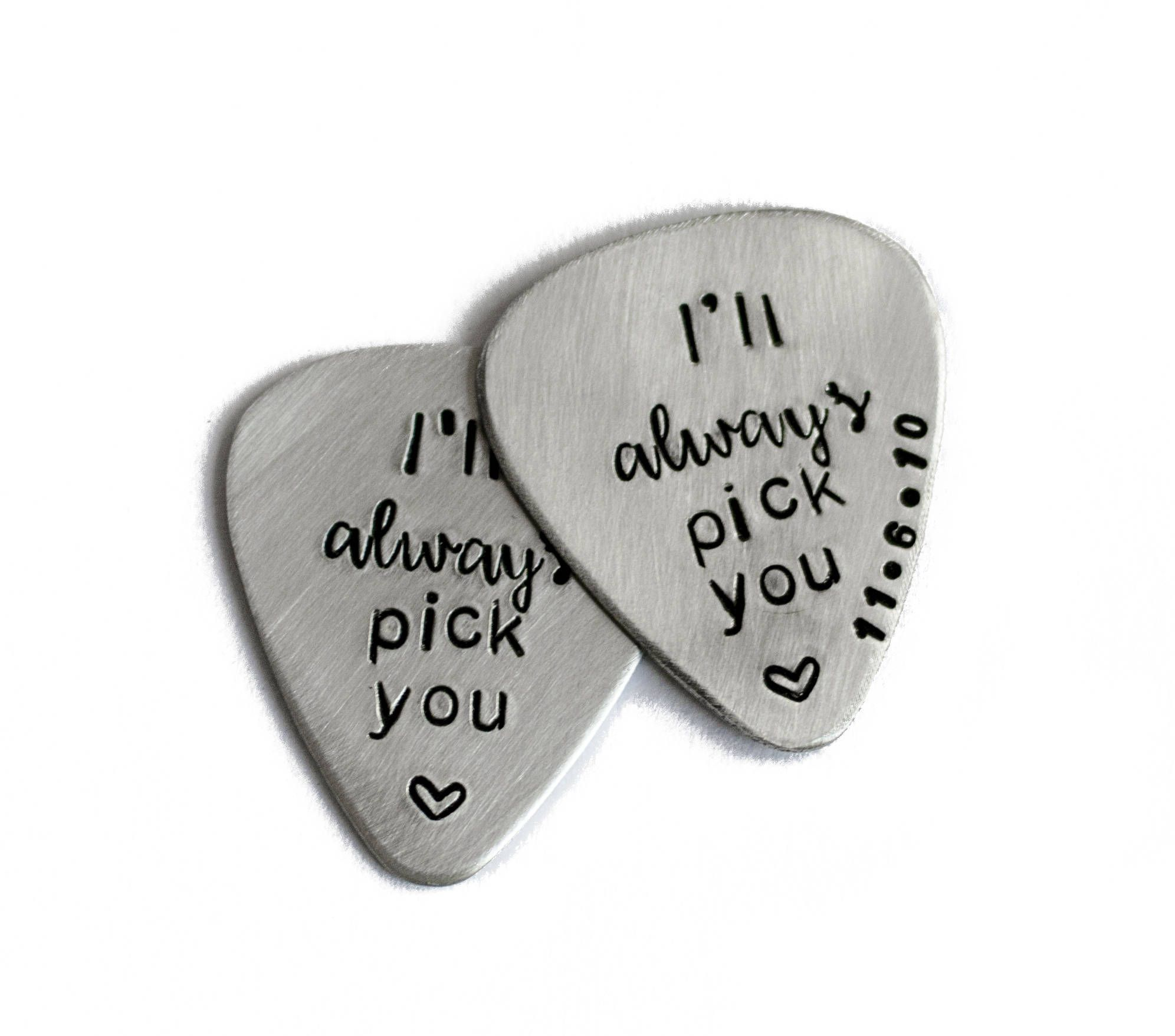 I\'ll Always Pick You Engraved Guitar Pick, Cool Guitar Pick ...