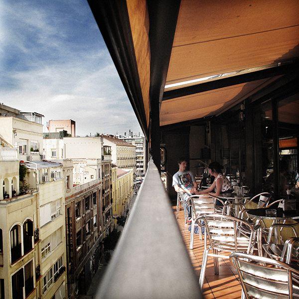 Terraza De La Casa De Granada En Madrid Una De Mis Terrazas