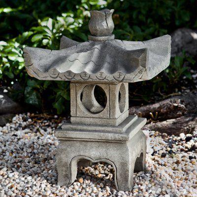 Exceptional Campania International Antique Pagoda Garden Statue   OR 144 NN