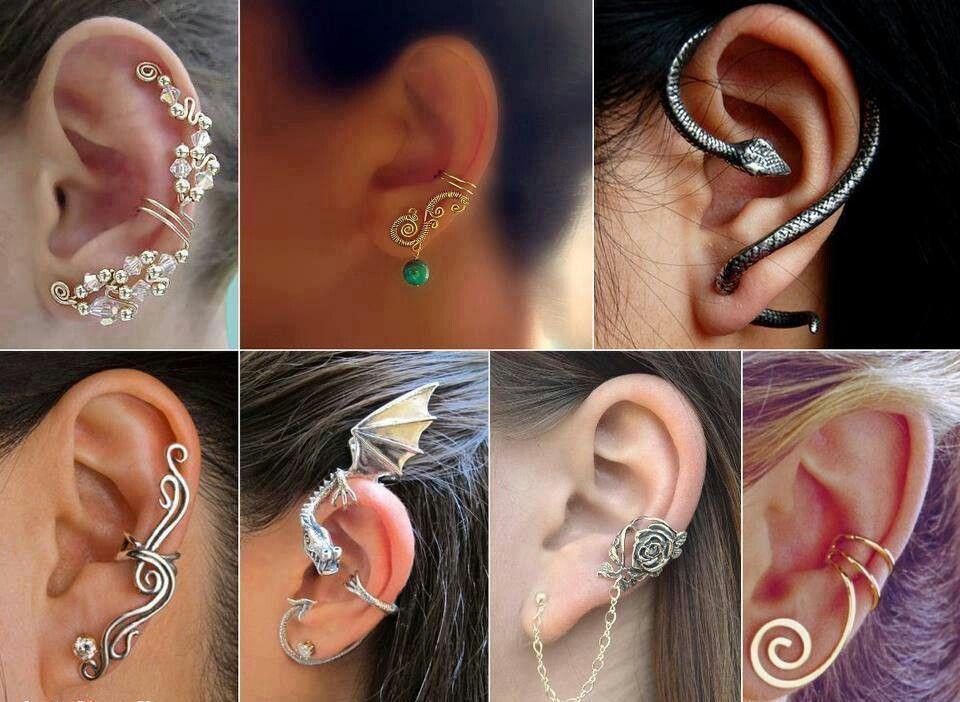 Different Types Of Earrings Casual In 2019 Piercings Earrings