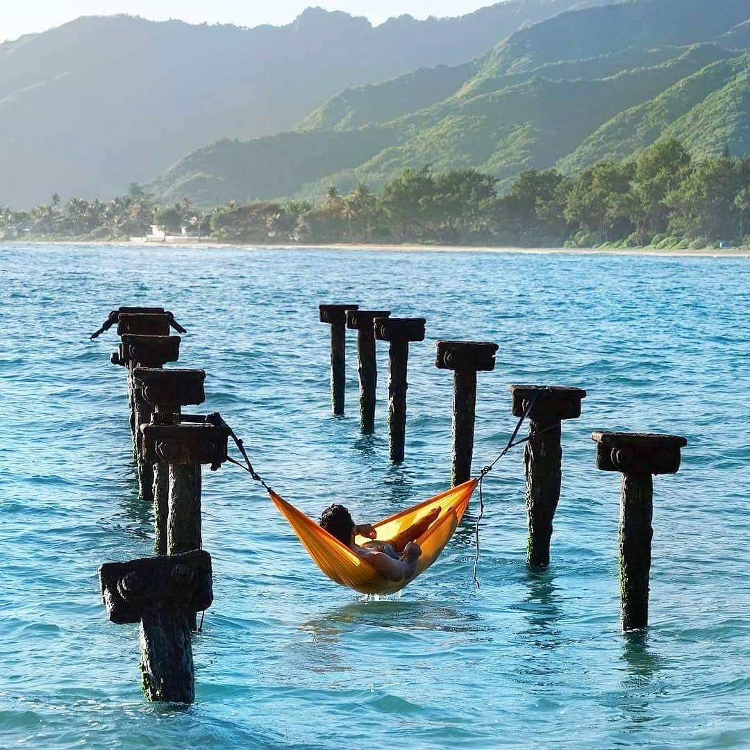 keep calm  awesome  hammock setup by  threeifbysea  adventure  travrel  hawaii keep calm  awesome  hammock setup by  threeifbysea  adventure      rh   pinterest