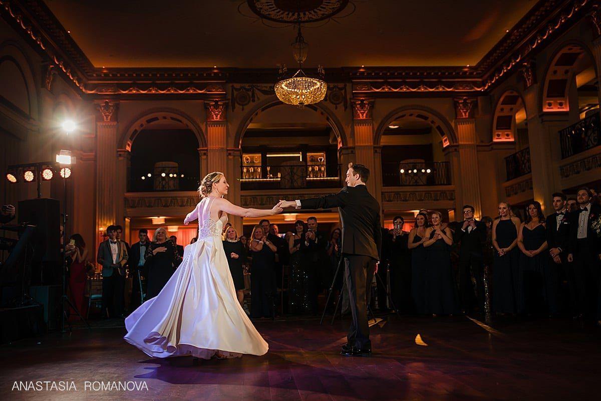 Ballroom At The Ben Philadelphia Elegant Wedding In 2020 Wedding Elegant Wedding Ballroom