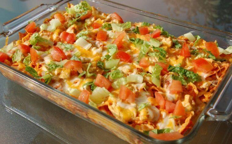 Dorito Chicken Casserole Cook Heavenly Recipes Recipes Chicken Dorito Casserole Chicken Recipes Casserole